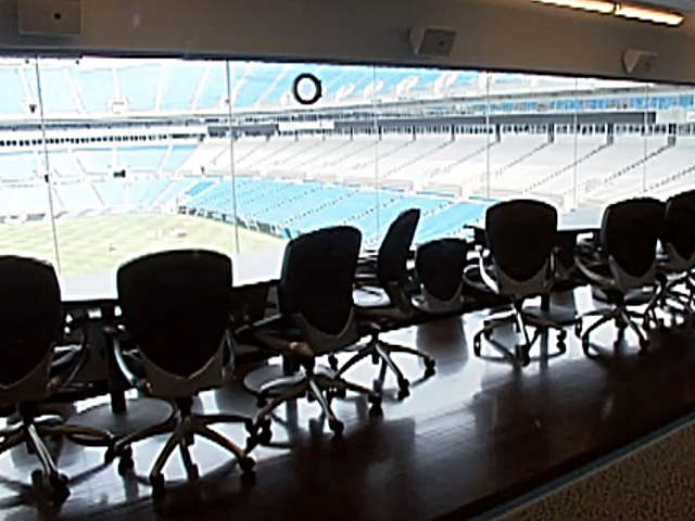 Carolina Panthers Suite 87 Club
